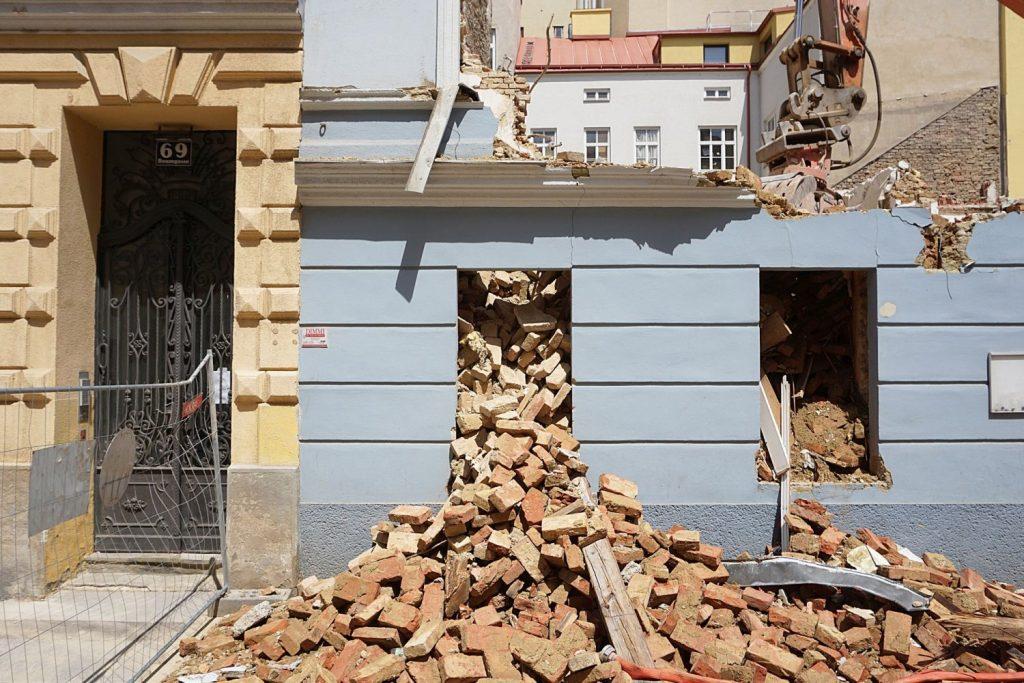 Gründerzeithaus Baumgasse 71 wird abgerissen, Wien-Landstraße