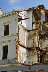 Gründerzeithaus Baumgasse 71 wird abgerissen, nahe Schlachthausgasse, Wien