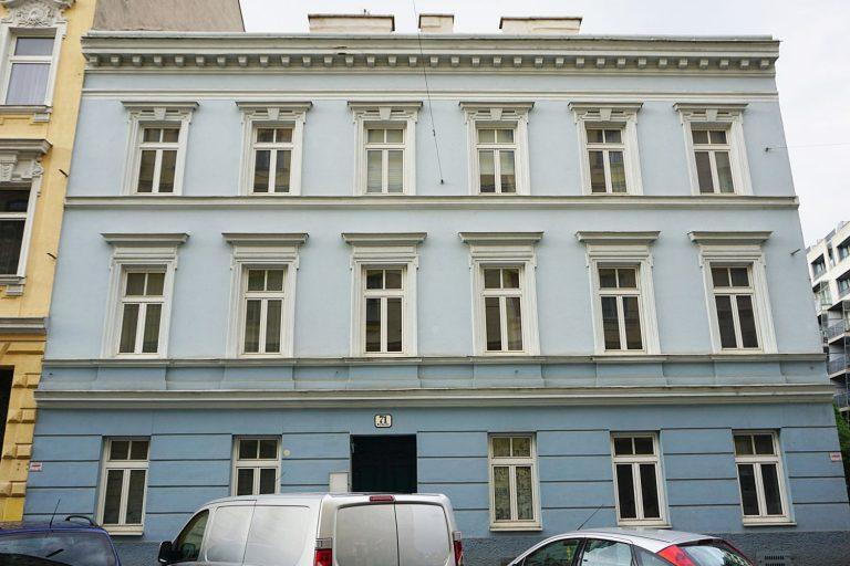 Gründerzeithaus Baumgasse 71 vor dem Abriss, Wien-Landstraße (3. Bezirk)