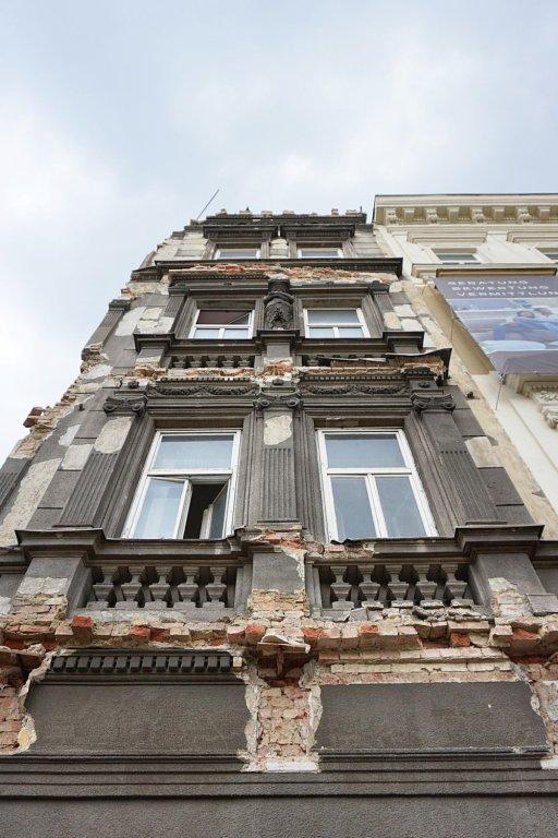 Abriss des Gebäudes Mariahilfer Gürtel 33, Rudolfsheim-Fünfhaus, Juni 2018