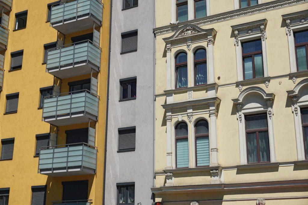 Neubau Wiedner Gürtel 22, Altbau Wiedner Gürtel 20, Wien, 4. Bezirk
