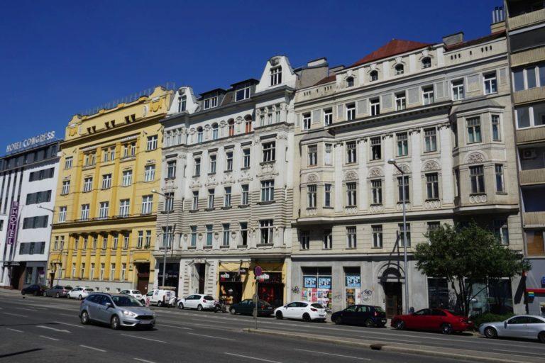 Jahrhundertwendehäuser Wiedner Gürtel 24-32, Wien, 4. Bezirk