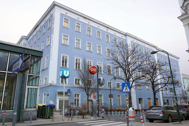 Blaues Haus vor dem Abriss (Foto: Jänner 2019)