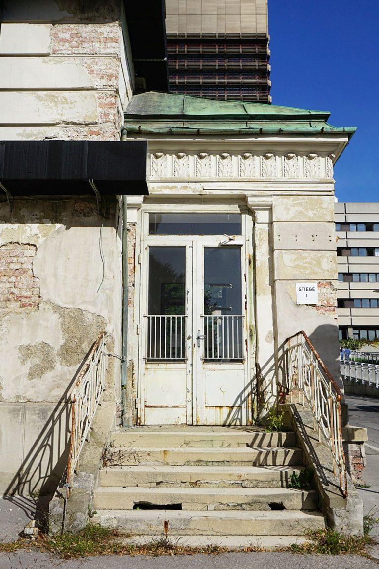 I. Medizinische Klinik, AKH, Wien-Alsergrund, Architekt: Emil Förster, erbaut 1909-1911