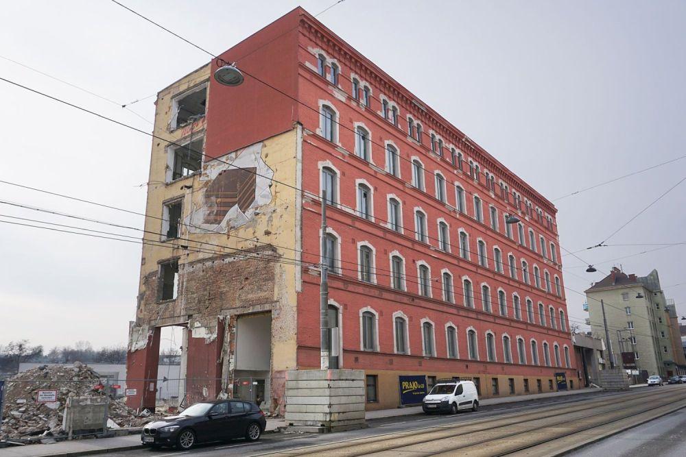 Fabrik Victor Schmidt & Söhne, Ildefonso-Werbung, Geiselbergstraße, Wien-Simmering