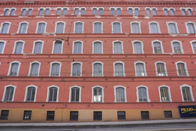 Schokoladenfabrik Victor Schmidt & Söhne in der Geiselbergstraße in Wien-Simmering