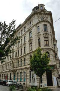 Gründerzeithaus Berggasse 21, Wien-Alsergrund (9. Bezirk), Architekt: Emil von Förster