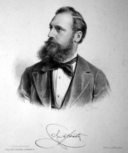 Porträt des Architekten Emil von Förster