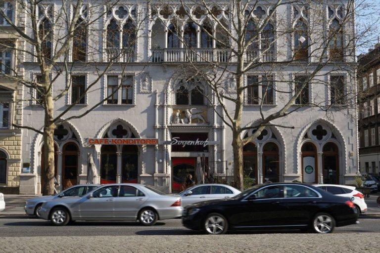 Dogenhof auf der Praterstraße in Wien-Leopoldstadt (2. Bezirk)