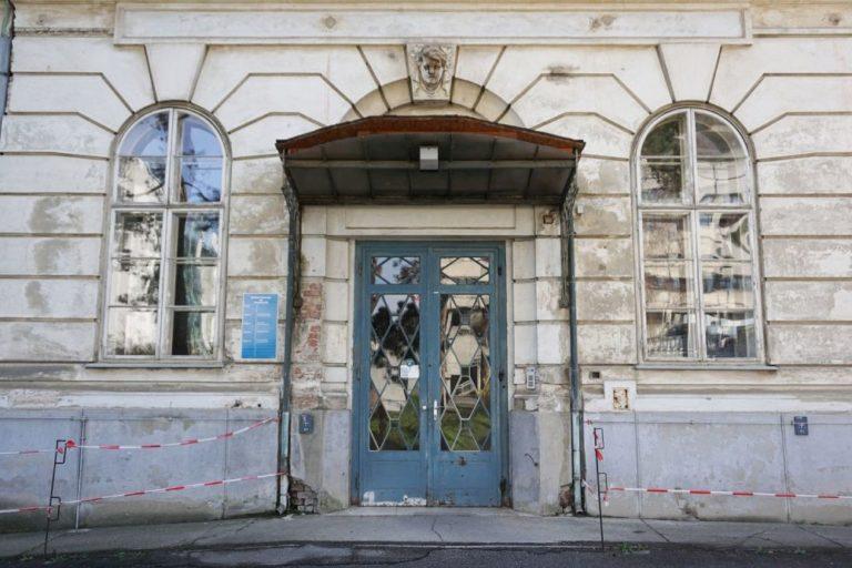 ehemalige Kinderklinik des Wiener AKH, erbaut 1911-1913, Architekt: Emil Förster