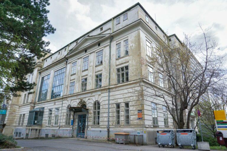 ehemalige Kinderklinik des Wiener AKH, Architekt: Emil Förster, Baujahr 1913