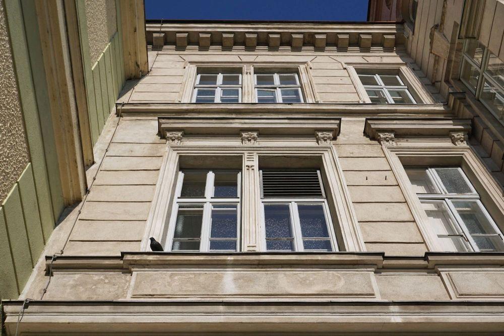 Fassade des Währinger Bads, Wien