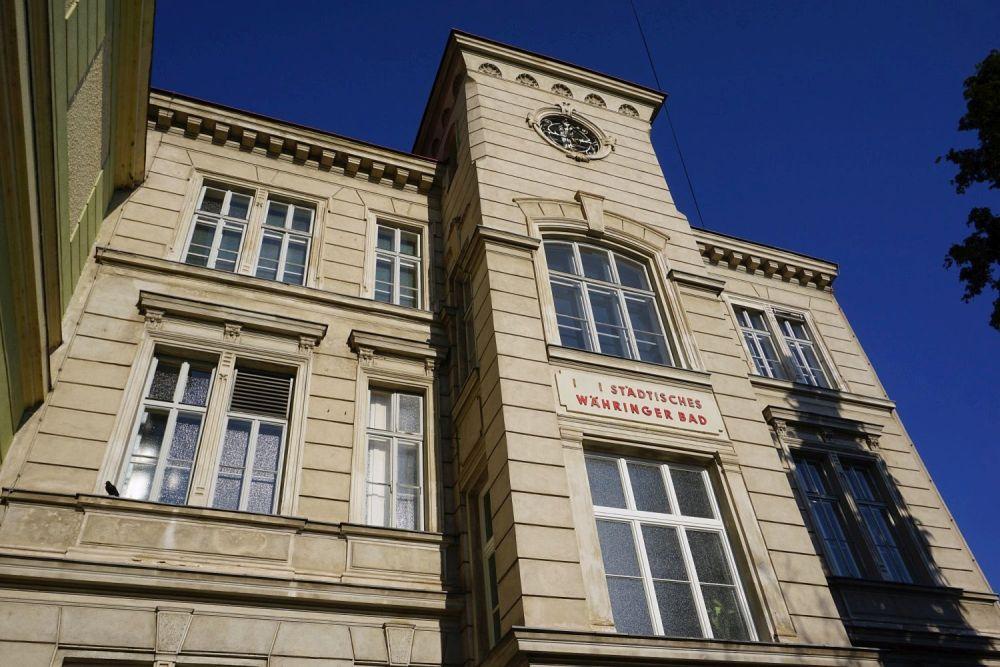 Tröpferlbad in Wien-Währing (18.Bezirk), Klostergasse 27