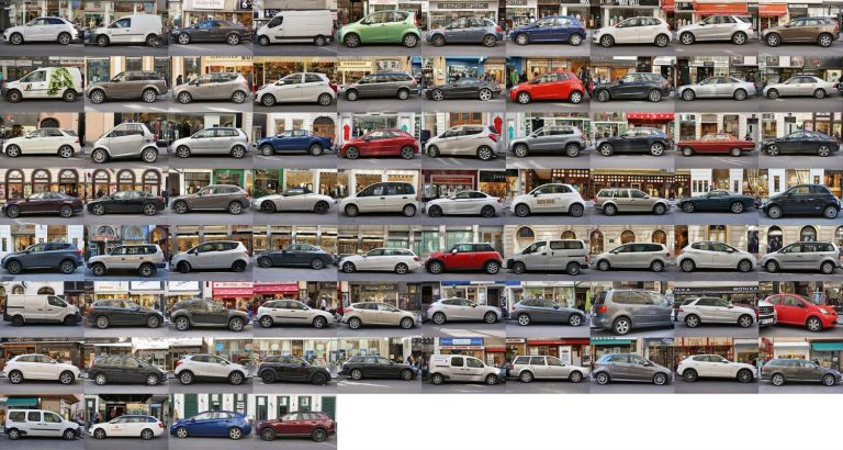Autos in der Wollzeile, Wien, Innere Stadt