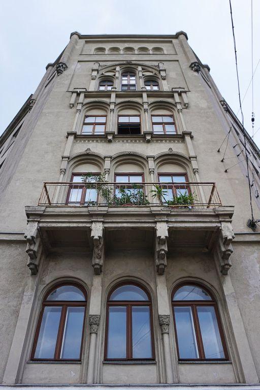 neugotisches Gebäude in der Radetzkystraße 24-26, Wien-Landstraße
