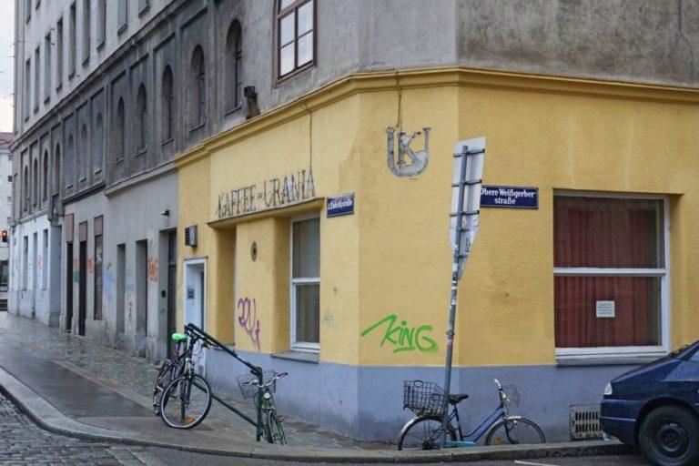 "ehemaliges ""Kaffee-Urania"" in der Radetzkystraße in Wien-Landstraße"