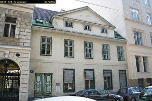Abriss ca. 2009: Halbgasse 4 (7. Bezirk, Foto: MA19/Stadt Wien)