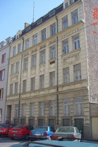 Tautenhayngasse 13 in Wien, Rudolfsheim-Fünfhaus, später abgebrochen