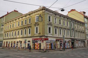 Hofmühlgasse 6 vor Abriss, Wien-Mariahilf (6. Bezirk)