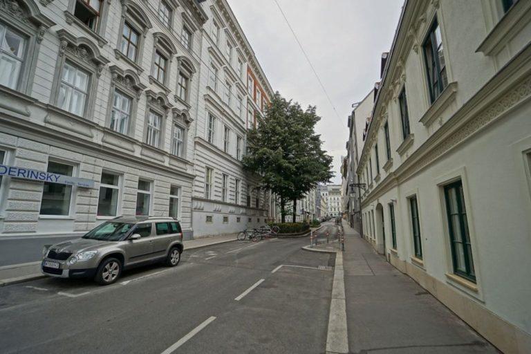Marchettigasse in Wien-Mariahilf (6. Bezirk)