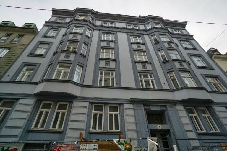 Jugendstilhaus Marchettigasse 9, Wien-Mariahilf (6. Bezirk)