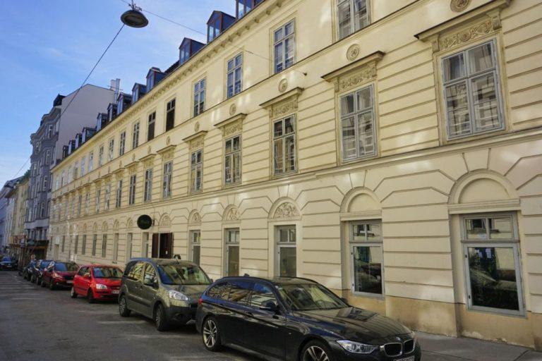 Marchettihaus in der Marchettigasse, Wien-Mariahilf (6. Bezirk)