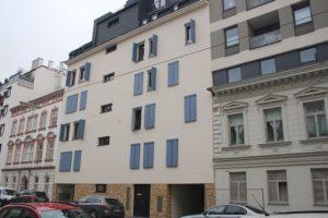 Neubau Speckbachergasse 38, nach Abriss eines Gründerzeithauses, 1160 Wien