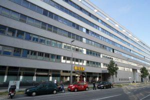 Bürohaus in der Walcherstraße in Wien-Leopoldstadt (2. Bezirk)