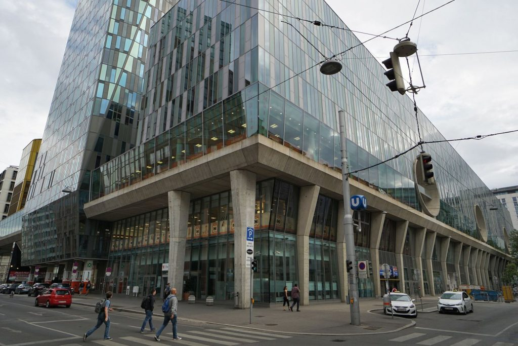 Bürokomplex und Einkaufszentrum Wien Mitte, Landstraße