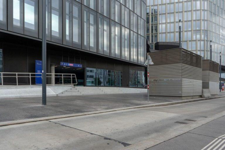 Wiedner Gürtel, Bürohaus beim Hauptbahnhof