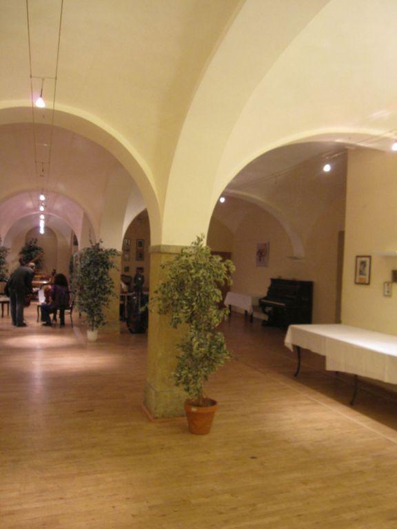 Konzertsaal in der abgerissenen Bösendorfer-Klavierfabrik in Wien-Wieden, Graf-Starhemberg-Gasse