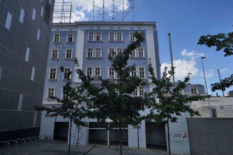 Blaues Haus wird abgerissen, 1150 Wien