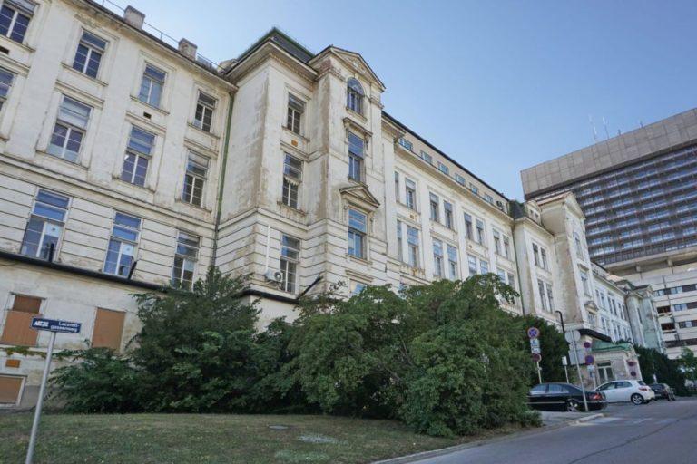 AKH Wien, I. Medizinische Klinik, Lazarettgassenweg