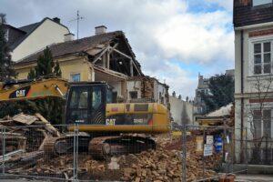Haus in Wien-Meidling wird abgerissen
