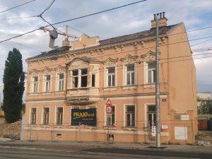 Abriss eines Gründerzeithauses in Wien-Meidling