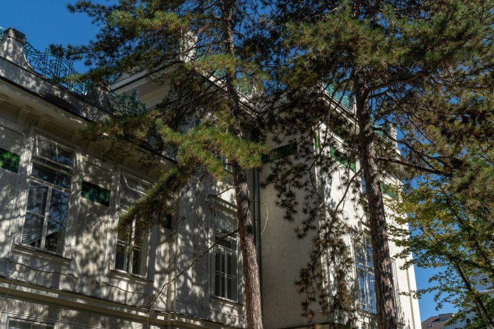 Jugendstilgebäude beim Wiener AKH, ehemalige Frauenkliniken, Architekt: Franz Berger