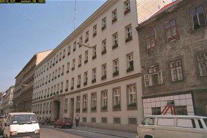 ehemalige Zentrale der Bestattung Wien in der Goldeggasse, Wieden