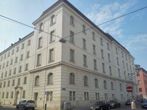 ehemaliger Jugendgerichtshof in Wien-Landstraße, abgerissen