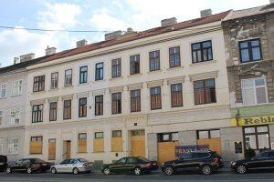 Gründerzeithaus Rennweg 88, erbaut 1861, abgerissen 2014