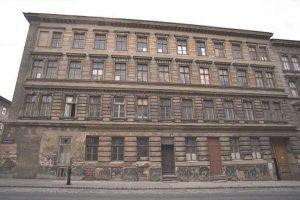 abgerissenes Gründerzeithaus in Wien-Margareten