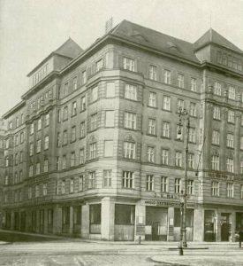 historische Aufnahme des Gebäudes Wipplingerstraße 33, 1010 Wien