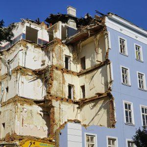 """Das """"Blaue Haus"""" ist Geschichte"""