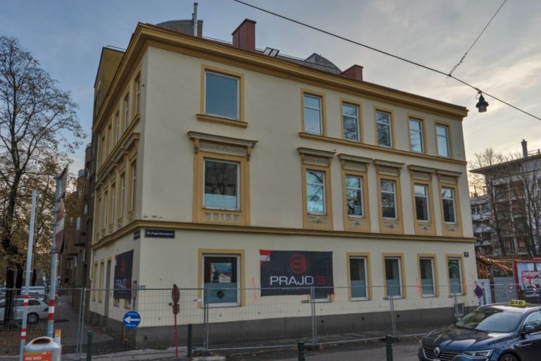 Gründerzeithaus Dammstraße 33, Wien-Brigittenau (20. Bezirk)