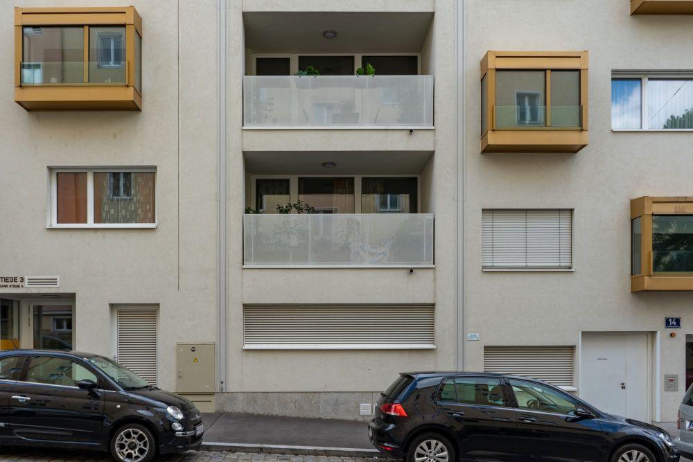 Neubau in der Graf-Starhemberg-Gasse, 1040 Wien, nach Abriss der Bösendorfer-Klavierfabrik
