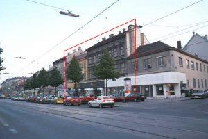 Gründerzeithäuser Hernalser Hauptstraße 103-105, später abgerissen