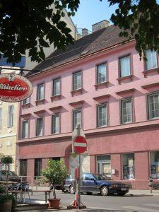 Biedermeierhaus Kleine Sperlgasse 4, Wien-Leopoldstadt, abgerissen