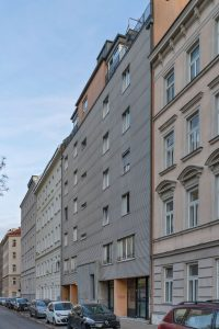 Neubau und Gründerzeithäuser in Wien-Brigittenau (20. Bezirk)