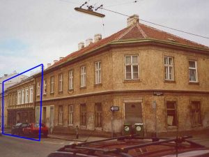alte Aufnahme eines Gründerzeithauses