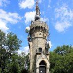 historischer Aussichtsturm in Wien