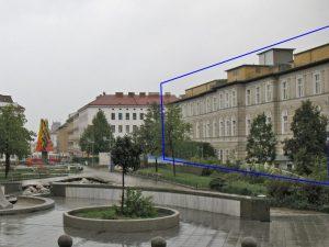 historisches Spital in Wien Rudolfsheim-Fünfhaus